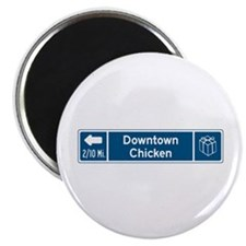 "Chicken, Alaska 2.25"" Magnet (10 pack)"