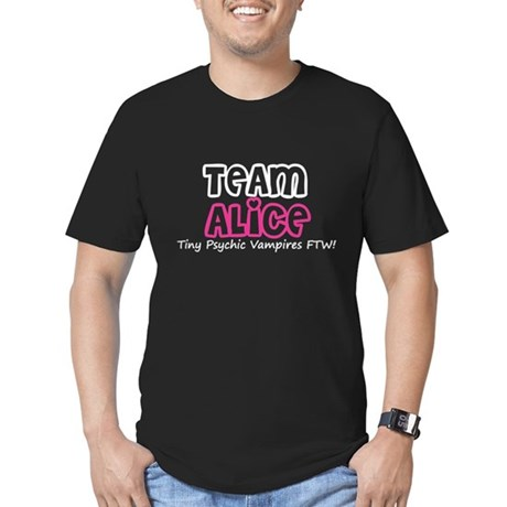 Team Alice Twilight Men's Fitted T-Shirt (dark)