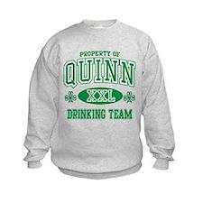 Quinn Irish Drinking Team Sweatshirt