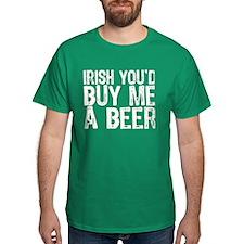 Irish Buy Me Beer T-Shirt