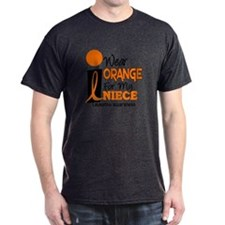 I Wear Orange For My Niece 9 Leukemia T-Shirt