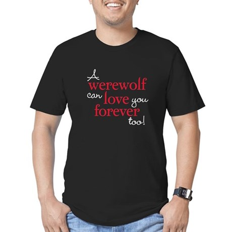 Vampire Love Forever Men's Fitted T-Shirt (dark)