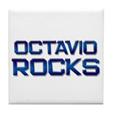 octavio rocks Tile Coaster