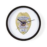 Garner Police Wall Clock