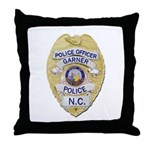 Garner Police Throw Pillow