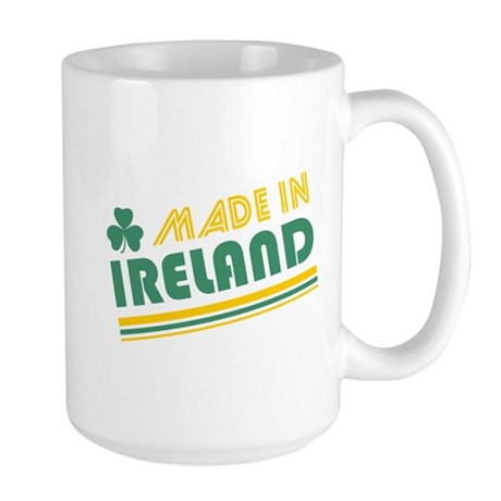 Made In Ireland Large Mug