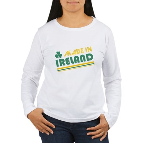 Made In Ireland Womens Long Sleeve T-Shirt
