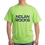 nolan rocks Green T-Shirt