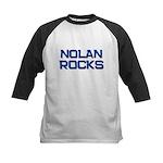 nolan rocks Kids Baseball Jersey