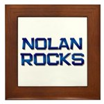 nolan rocks Framed Tile
