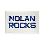 nolan rocks Rectangle Magnet (10 pack)