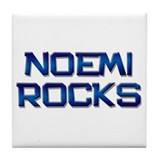 noemi rocks Tile Coaster