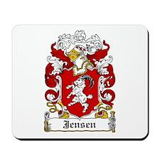 Jensen Coat of Arms Mousepad