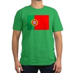 Portuguese Flag of Portugal Men's Fitted T-Shirt (