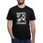 don't tase me, bro. Women's Fitted T-Shirt (dark)