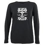don't tase me, bro. Men's Fitted T-Shirt (dark)