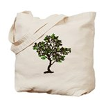 Recycle Symbol Tree Reusable Tote Bag