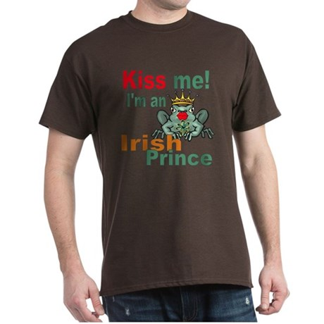 Kiss Me Irish Frog Dark T-Shirt