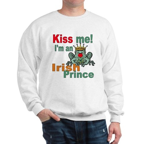 Kiss Me Irish Frog Sweatshirt