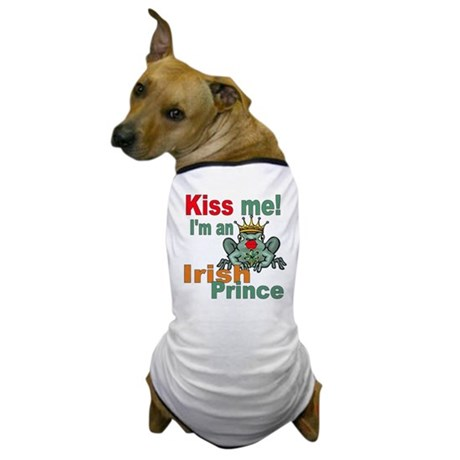 Kiss Me Irish Frog Dog T-Shirt