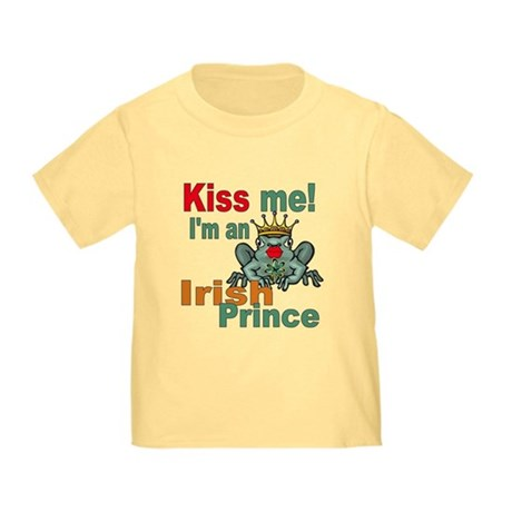 Kiss Me Irish Frog Toddler T-Shirt