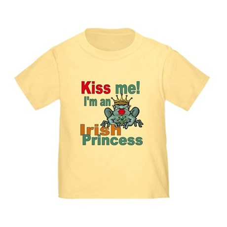 Funny Irish Princess Toddler T-Shirt