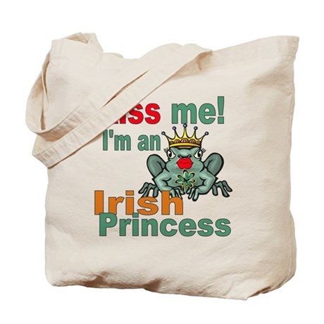 Funny Irish Princess Tote Bag