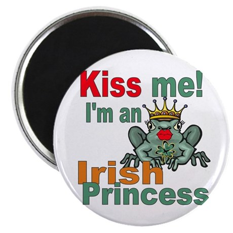 "Funny Irish Princess 2.25"" Magnet (10 pack)"