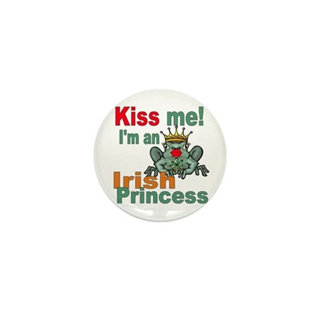 Funny Irish Princess Mini Button (10 pack)