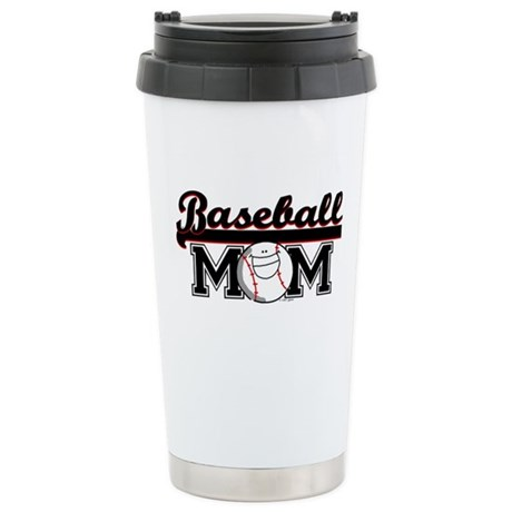 Baseball mom Ceramic Travel Mug