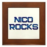 nico rocks Framed Tile