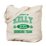 Kelly Irish Drinking Team Tote Bag
