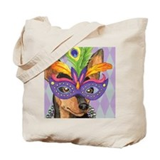 Party Min Pin Tote Bag