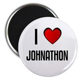 I LOVE JOHNATHON Magnet