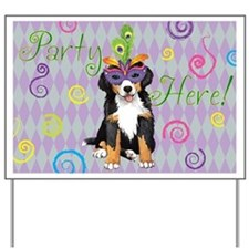 Party Berner Yard Sign