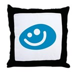 All Smiles Studio Throw Pillow