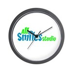 All Smiles Studio Wall Clock