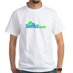 All Smiles Studio White T-Shirt