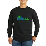 All Smiles Studio Long Sleeve Dark T-Shirt