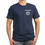 Firefighter Men's Fitted T-Shirt (dark)