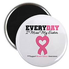 "Breast Cancer Miss Sister 2.25"" Magnet (10 pack)"