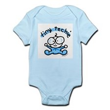 Tiny Techie Geek Baby Infant Creeper
