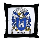Krogh Coat of Arms Throw Pillow