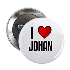 "I LOVE JOHAN 2.25"" Button (100 pack)"