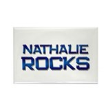 nathalie rocks Rectangle Magnet (10 pack)