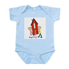 House We're Moving Infant Bodysuit