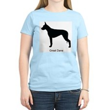 Black Great Dane T-Shirt