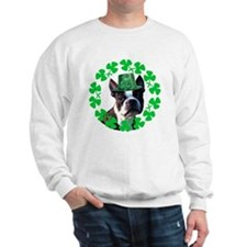 Kiss me I'm Irish Boston terr Sweatshirt