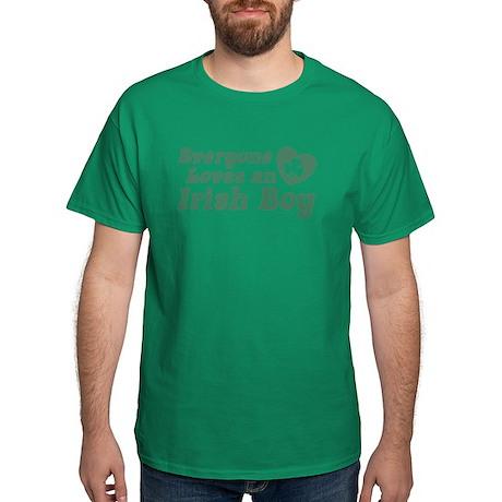 Everyone loves an Irish Boy Dark T-Shirt