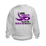 I Wear Purple (Sister-In-Law) 33 PC Sweatshirt